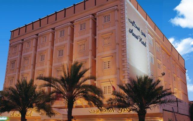 Ascot Hotel Дубай вид на фасад