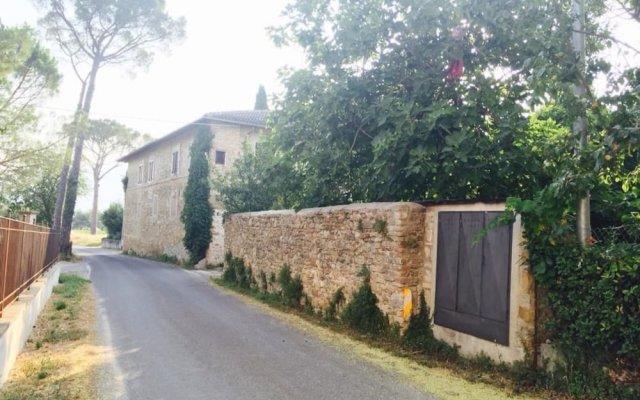 Отель Agriturismo Zaffamaro Сполето вид на фасад