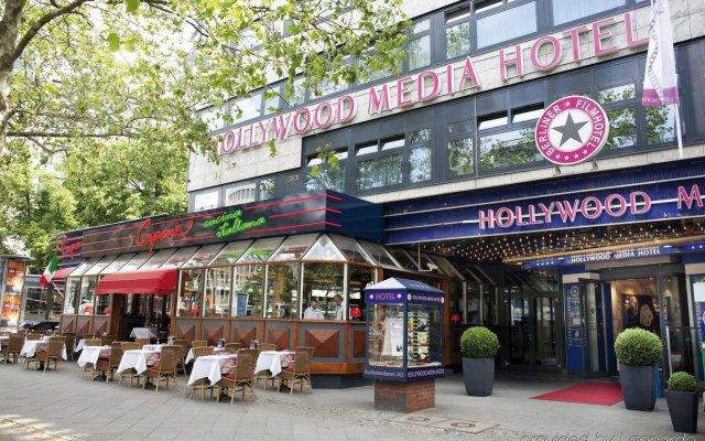 Отель Hollywood Media Hotel Германия, Берлин - 1 отзыв об отеле, цены и фото номеров - забронировать отель Hollywood Media Hotel онлайн вид на фасад