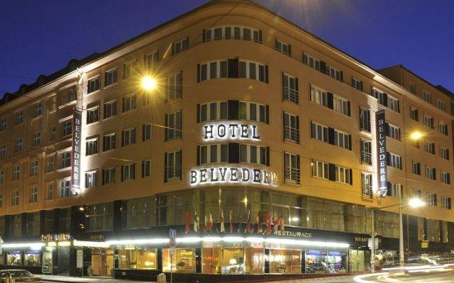 Belvedere Hotel вид на фасад
