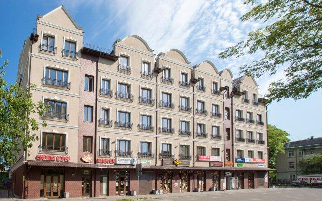 Hotel Briz Калининград вид на фасад