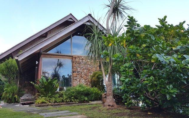 Отель Villa Manatea - Moorea Французская Полинезия, Папеэте - отзывы, цены и фото номеров - забронировать отель Villa Manatea - Moorea онлайн вид на фасад