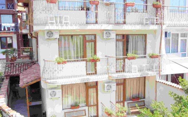 Отель Кириос Отель Болгария, Несебр - отзывы, цены и фото номеров - забронировать отель Кириос Отель онлайн вид на фасад
