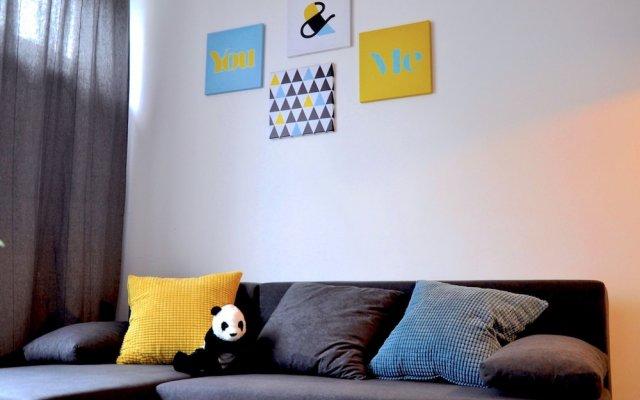 Апартаменты Panda Apartments Grzybowska-Centrum вид на фасад