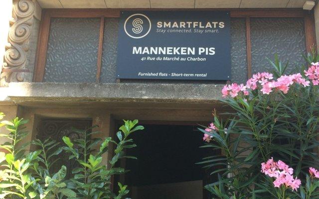 Отель Smartflats City - Manneken Pis Брюссель вид на фасад