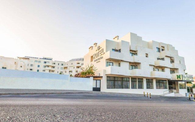 Апартаменты Santa Eulalia Apartments And Spa Албуфейра вид на фасад