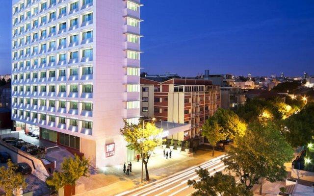 Отель Hf Ipanema Porto Порту вид на фасад
