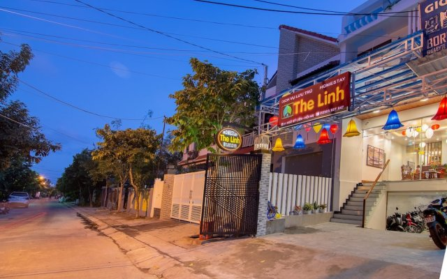 Отель The Linh Homestay вид на фасад