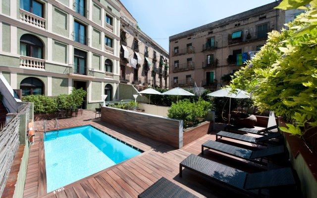 Отель Catalonia Port Испания, Барселона - отзывы, цены и фото номеров - забронировать отель Catalonia Port онлайн вид на фасад