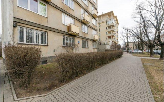 Отель P&O Apartments Dabrowskiego Польша, Варшава - отзывы, цены и фото номеров - забронировать отель P&O Apartments Dabrowskiego онлайн вид на фасад