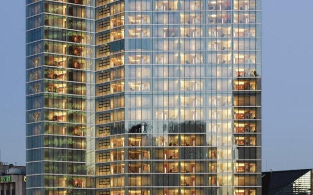 Отель Park Hyatt Seoul вид на фасад