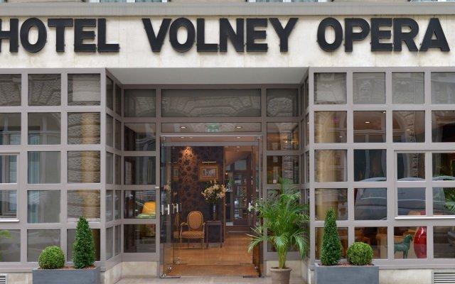 Отель Hôtel Volney Opéra Франция, Париж - 1 отзыв об отеле, цены и фото номеров - забронировать отель Hôtel Volney Opéra онлайн вид на фасад