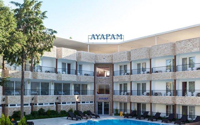 Ayapam Hotel Турция, Памуккале - отзывы, цены и фото номеров - забронировать отель Ayapam Hotel онлайн вид на фасад