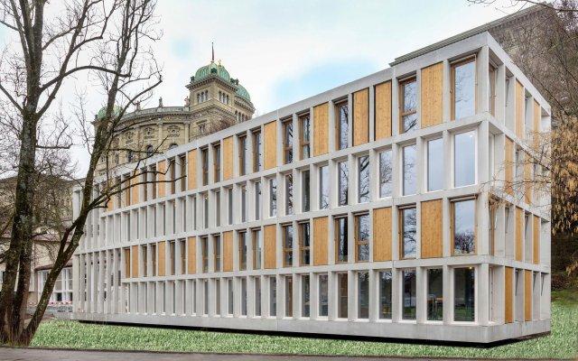 Youth Hostel Bern вид на фасад