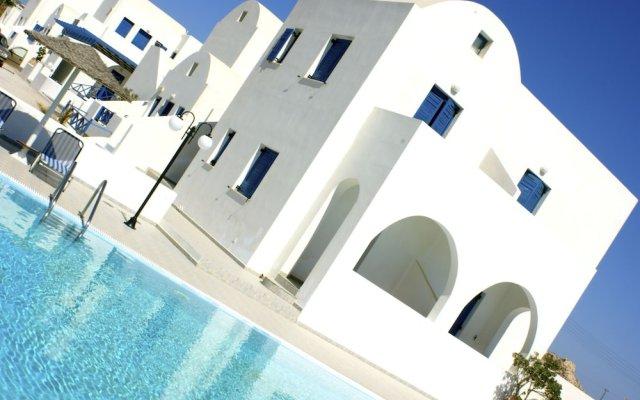 Отель Blue Bay Villas Греция, Остров Санторини - отзывы, цены и фото номеров - забронировать отель Blue Bay Villas онлайн вид на фасад