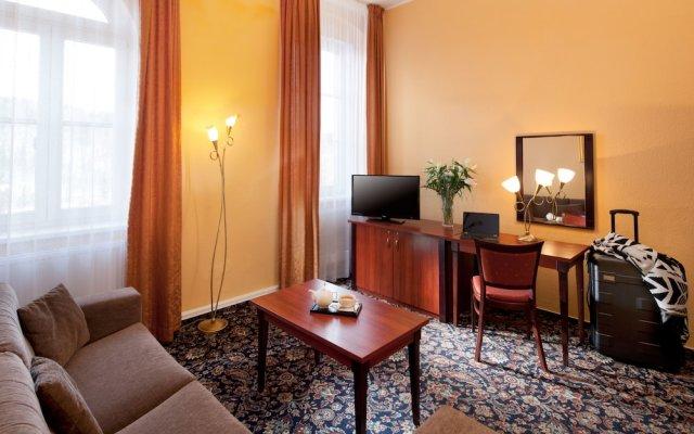 Отель Chateau Monty Spa Resort Чехия, Марианске-Лазне - отзывы, цены и фото номеров - забронировать отель Chateau Monty Spa Resort онлайн комната для гостей
