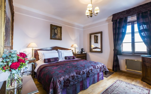 Отель Golden Well Прага комната для гостей