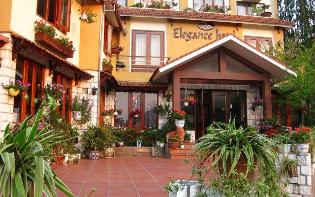 Отель Sapa Elegance Шапа вид на фасад