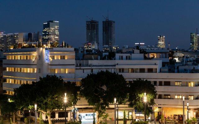 Center Chic Hotel - an Atlas Boutique Hotel Израиль, Тель-Авив - отзывы, цены и фото номеров - забронировать отель Center Chic Hotel - an Atlas Boutique Hotel онлайн вид на фасад