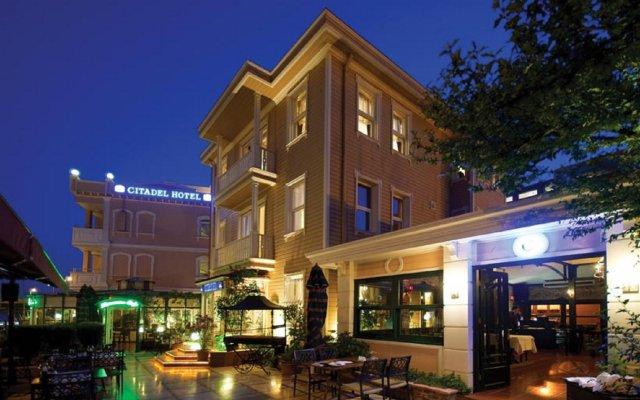 Отель Best Western Citadel вид на фасад