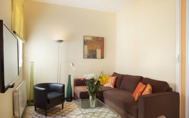 Апартаменты Go BCN Apartments Eixample комната для гостей