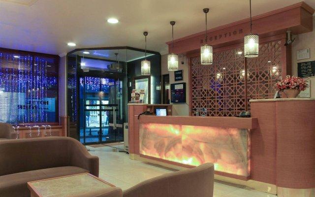 Inter Hotel Турция, Стамбул - 1 отзыв об отеле, цены и фото номеров - забронировать отель Inter Hotel онлайн интерьер отеля