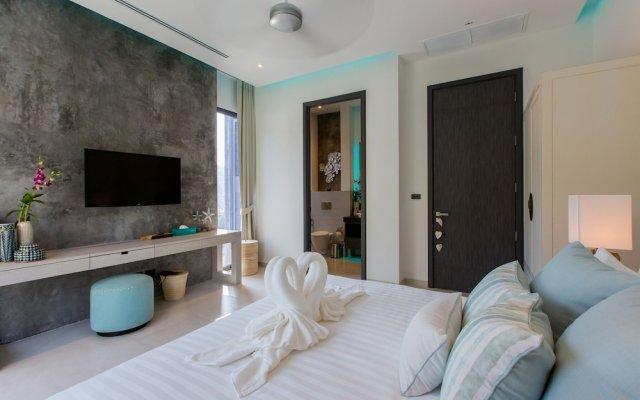 Отель 5-Bedroom Villa Omari with Private Pool пляж Ката комната для гостей