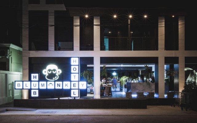Отель Blu Monkey Hub and Hotel Phuket Таиланд, Пхукет - 2 отзыва об отеле, цены и фото номеров - забронировать отель Blu Monkey Hub and Hotel Phuket онлайн вид на фасад