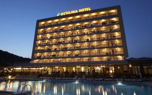 Detelina Hotel вид на фасад
