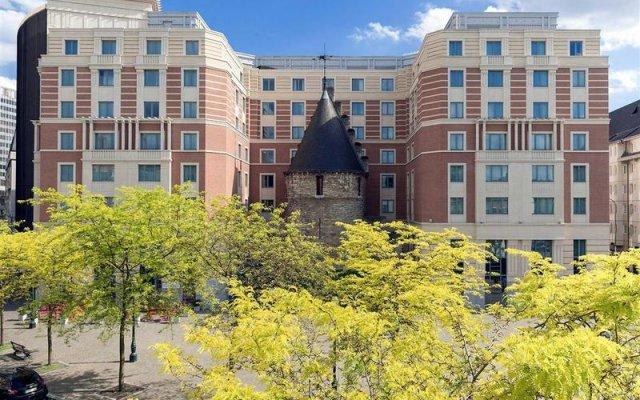 Отель Novotel Brussels City Centre вид на фасад
