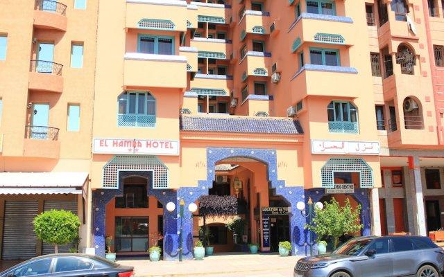El Hamra Hotel вид на фасад