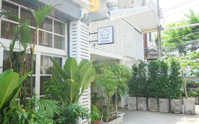 Апартаменты 12/14 Home Studio Бангкок вид на фасад