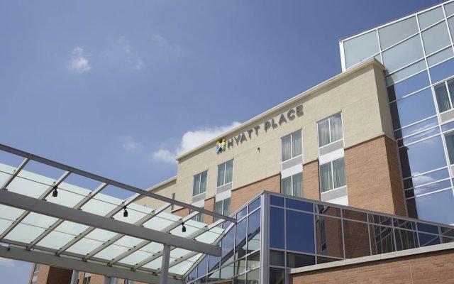 Отель Hyatt Place Columbus/OSU вид на фасад