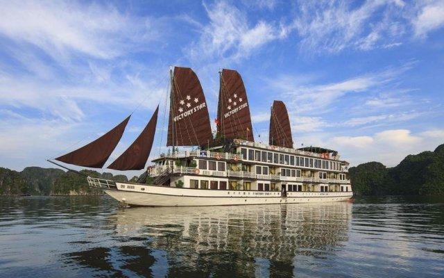 Отель Halong Victory Cruise вид на фасад