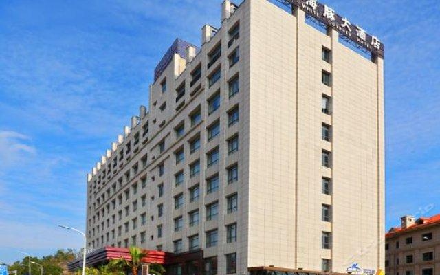 Отель White Dolphin Hotel Китай, Сямынь - отзывы, цены и фото номеров - забронировать отель White Dolphin Hotel онлайн вид на фасад