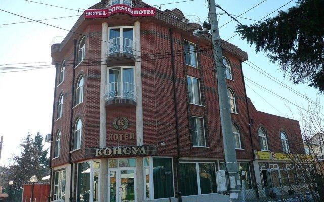 Отель Consul Болгария, София - отзывы, цены и фото номеров - забронировать отель Consul онлайн вид на фасад