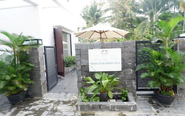 Отель Hoi An Lotus Aroma Villa вид на фасад