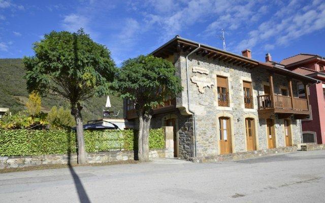 Отель Apartamentos Spa Cantabria Infinita вид на фасад