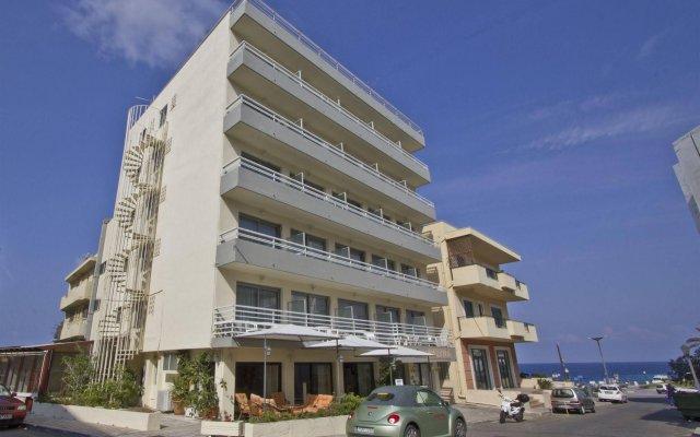 Отель Nafsika Hotel Греция, Родос - отзывы, цены и фото номеров - забронировать отель Nafsika Hotel онлайн вид на фасад