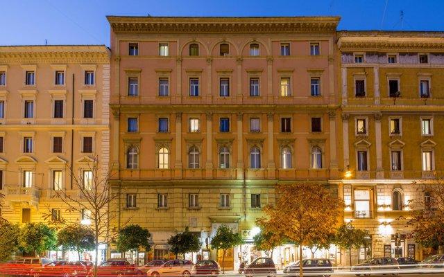 Hotel Ranieri Рим вид на фасад