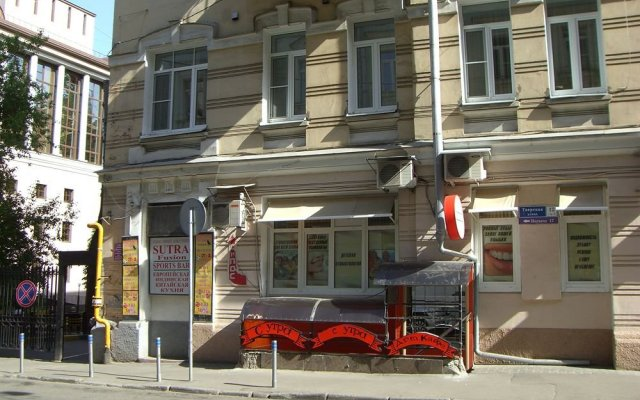 Отель Inga Hotels Moscow Москва вид на фасад