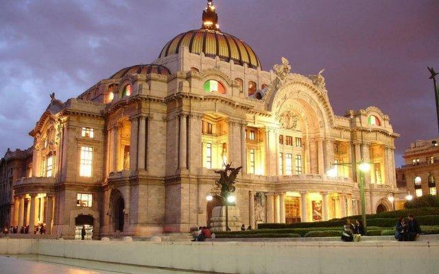 Отель Estoril Мексика, Мехико - отзывы, цены и фото номеров - забронировать отель Estoril онлайн вид на фасад