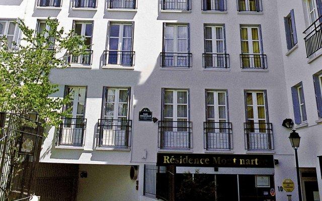 Отель Aparthotel Adagio Paris Montmartre вид на фасад