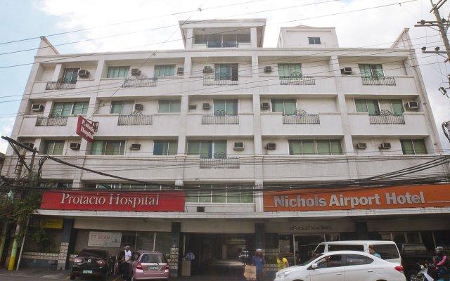 Отель Nichols Airport Hotel Филиппины, Паранак - отзывы, цены и фото номеров - забронировать отель Nichols Airport Hotel онлайн вид на фасад