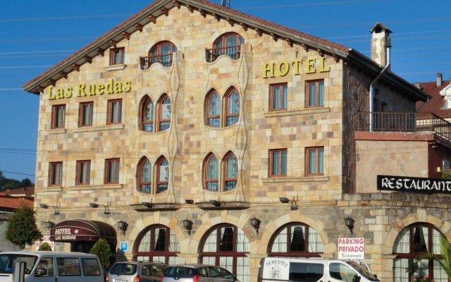 Отель Las Ruedas Испания, Барсена-де-Сисеро - отзывы, цены и фото номеров - забронировать отель Las Ruedas онлайн вид на фасад