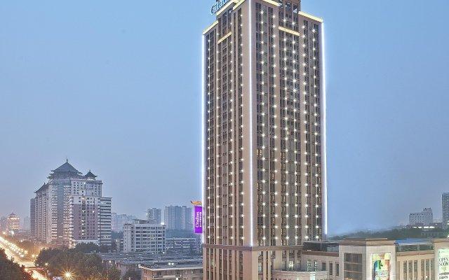 Отель Citadines Xingqing Palace Xi'an вид на фасад
