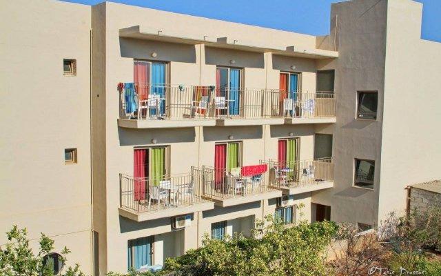 Creta Verano Hotel вид на фасад
