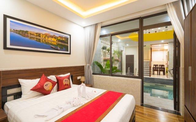 Отель The Lit Villa Хойан