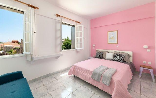 Апартаменты New Studio Flat In Old Town Rhodes Родос комната для гостей