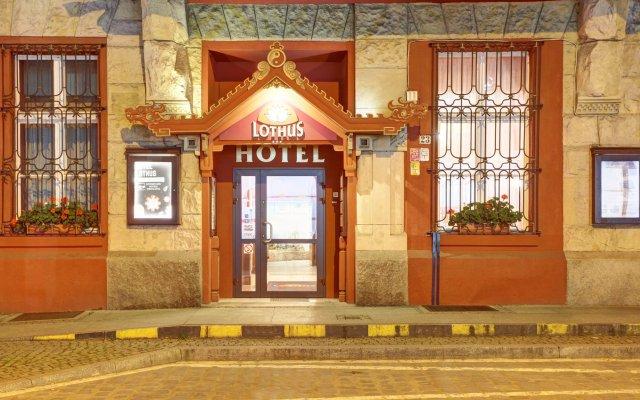 Отель LOTHUS Вроцлав вид на фасад